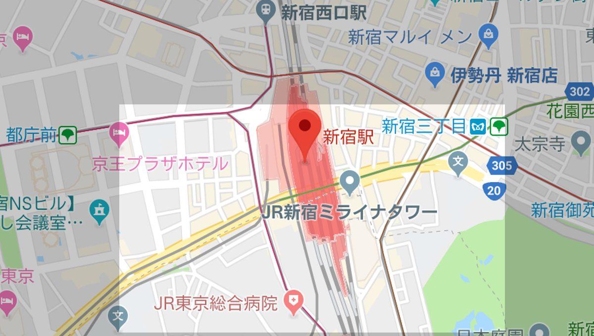 新宿 駅 ラーメン あぶら そば 専門 店 ぶらぶら